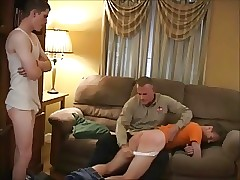 Uniform porn videos - male orgasm porn